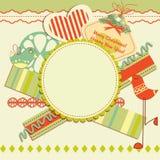 Digital scrapbooking kit Royalty Free Stock Images