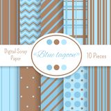 Digital scrapbooking paper Royalty Free Stock Photography