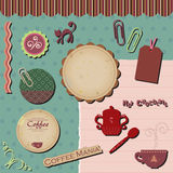 Digital scrapbooking templates Stock Photo