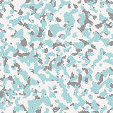 Digital seamless arctic camo. Pattern Royalty Free Stock Photography