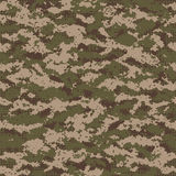 Digital seamless camouflage pattern. Stock Photo