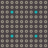 Digital seamless pattern background. Royalty Free Stock Photography