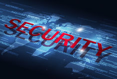 Digital Security Coding Royalty Free Stock Photography