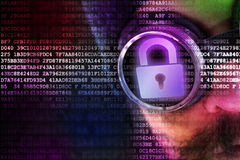 Digital security concept Stock Photography