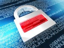 Digital security stock illustration