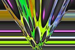Digital shapes. Stock Images