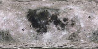 Moon surface. Digital shot. Moon surface. Expanded view. Some elements image credit NASA Royalty Free Stock Photography