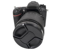 Digital single lens reflex camera Royalty Free Stock Photo