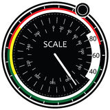 Digital-Skala vektor abbildung