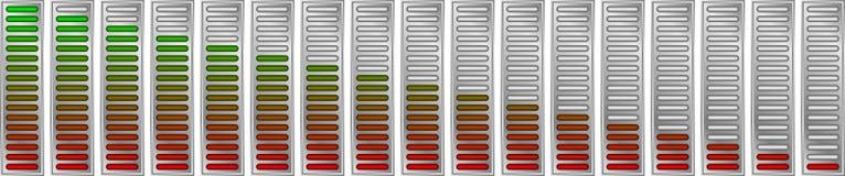 Digital-Skala stock abbildung