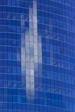Digital sky. Cloud refflection in skyscraper office windows Stock Image
