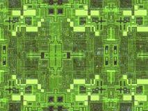 Digital slät futuristisk abstrakt textur Royaltyfria Foton