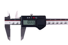 Digital sliding gauge Stock Photo