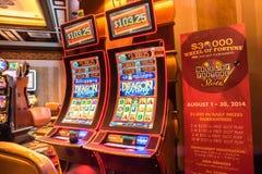 Digital slot machine Las Vegas Stock Photography