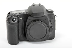 Digital SLR. A modern digital slr camera body Royalty Free Stock Photography