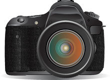 Digital SLR camera Royalty Free Stock Photos