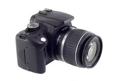 Digital slr camera Stock Image