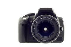 Digital slr camera Royalty Free Stock Image