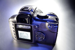 Digital SLR camera Stock Images