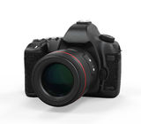 Digital SLR Camera Isolated. On white background. 3D render Royalty Free Stock Photography