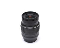 Digital SLR camera lens isolated on white Royalty Free Stock Images