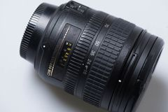 Digital SLR camera lens Royalty Free Stock Images