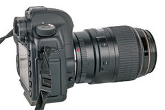 Digital SLR kamera Royaltyfri Bild
