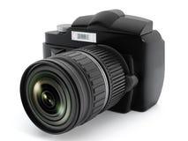 Digital SLR kamera Arkivbild