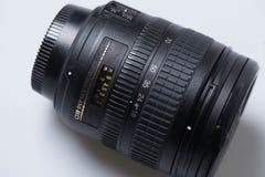 Digital SLR kameralins royaltyfria bilder