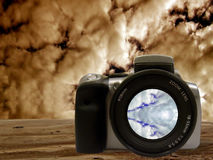 Digital SLR - Sky series Stock Images