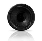 Digital SLR Zoom lens, front view Royalty Free Stock Images