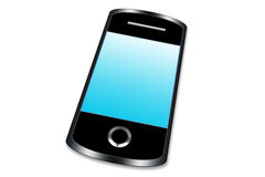 Digital smart phone Royalty Free Stock Images