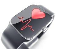 Digital smart watch Royalty Free Stock Photos