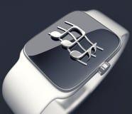 Digital smart watch Stock Images