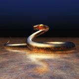 Digital Snake Visualization Stock Photography