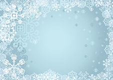 Digital snow Royalty Free Stock Photos