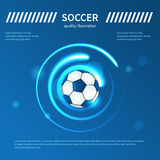 Digital soccer vector design Royalty Free Stock Photo