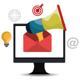 Digital and social marketing graphics. Stock Photo