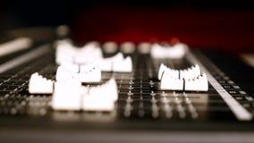 Digital solid blandare i studion lager videofilmer