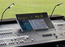 Digital sound mixer Stock Image