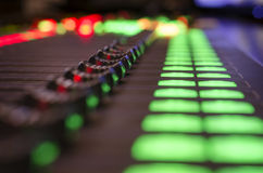 Digital sound mixer Stock Photography