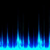 Digital Sound Signal Stock Images