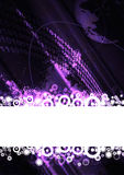 Digital space background Royalty Free Stock Photo