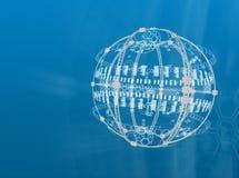 digital sphere Stock Image