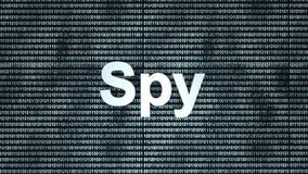Spy Royalty Free Stock Image