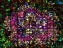 Digital Stained Glass Stock Photography