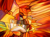 Digital Stained Glass Royalty Free Stock Photos