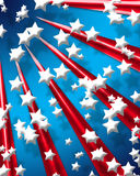 Digital Stars and Stripes 9 Royalty Free Stock Images
