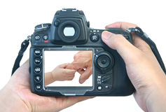 Digital still camera Stock Image