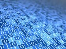 Digital-Stimmung blaues B Lizenzfreies Stockfoto